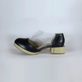 Deandri - Oswald Oxfords Black and Clear