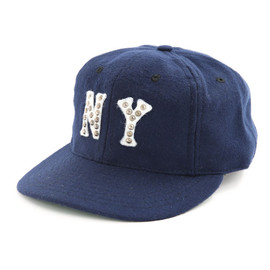 Ebbets Field Flannels, HTC - Authentic Ballcap-HTC Custumed New York