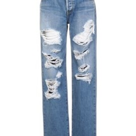NINE - damage boyfriend denim