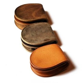 ANCHOR BRIDGE - Coin Case [ KUDU & Vachetta ]