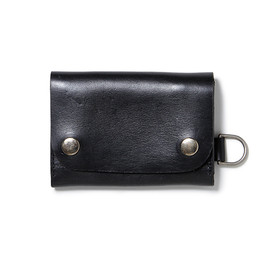 nonnative - DWELLER WALLET SHORT - COW LEATHER by Stevenson Overall Co.