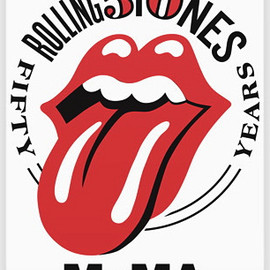 Shepard Fairey - The Rolling Stones 50th years MOMA poster