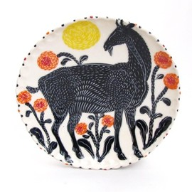 Sue Tirrell - painted plate