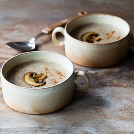 Mushroom and Cream Cheese Soup - Mushroom and Cream Cheese Soup