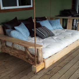 GODsRusticWorkshop - Porch Swing Bed