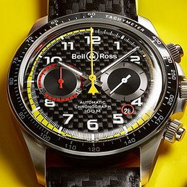 Bell&Ross - BR V2-94 R.S.18 - Carbon Fibre/Yellow/Red?