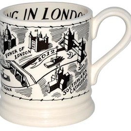 Emma Bridgewater - Wonderful London Litho 1/2 Pint Mug