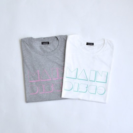 maindish - MAIN DISCO Tシャツ