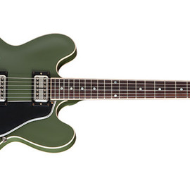 Gibson - ES-335 Olive Drab Green Chris Cornell