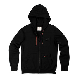Reigning Champ, DSPTCH - Heavyweight Full Zip Hoodie - Black