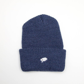 cup and cone - Cycle Sheep Watch Cap - Blue