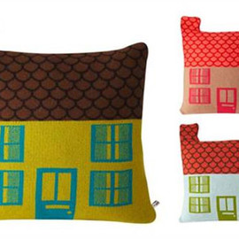 Donnna Wilson - House Shaped Cushion