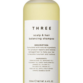 THREE - THREE scalp & hair balancing shampoo
