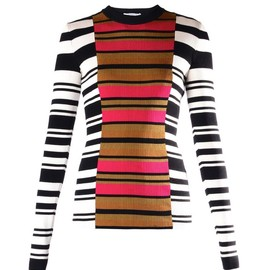 GIVENCHY - Contrast striped sweater