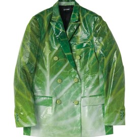 """CUNE - キャベツPVCジャケット 2013A/W""""THE CORE OF CABBAGE"""""""