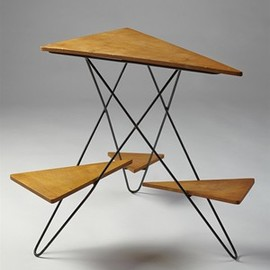 Plant table, Anonymous. Denmark. 1950's.