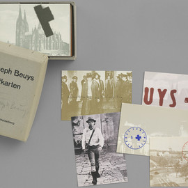 Joseph Beuys - Postcards 1968-1974. 1974