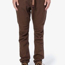 nonnative x GRAMICCI - CLIMBER EASY PANTS - OVERDYED C/P TWILL STRETCH by GRAMICCI
