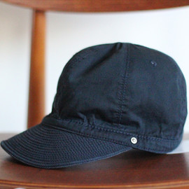 DECHO - SELVAGE CHINO AND HERRINGBONE KOME CAP