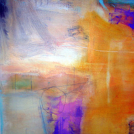 RYC124, mixed media on canvas