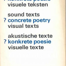 sound text ? concrete poetry visual texts