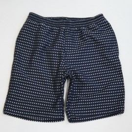 Haversack - HAVERSACK DOT JACQUARD SHORT PANTS(NAVY/WHITE)