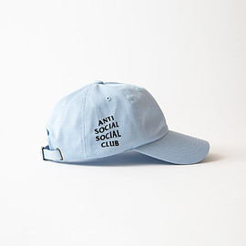 Anti Social Social Club - WEIRD CAP/BABY BLUE