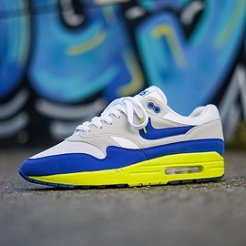 NIKE, theoze - Air Max 1 - Sport Royal Air Max Day Custom