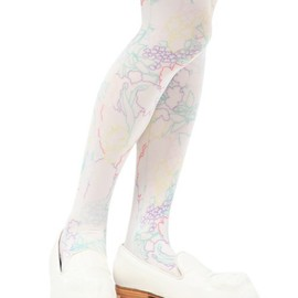 ANREALAGE - SHELL FRLOWER TIGHTS