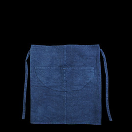 UNIONMADE, Small Trade Co. - Hemp Yak Wool Slouch Half Apron - Indigo