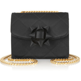 MARC JACOBS - Trouble mini quilted silk-satin shoulder bag