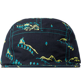 and wander - Navy Cap