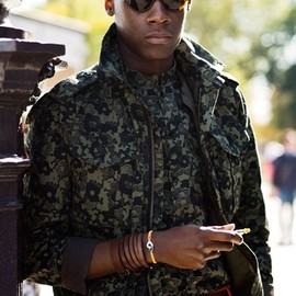 street - camouflage /street style