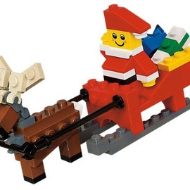 LEGO - Santa with Sleigh Building Set