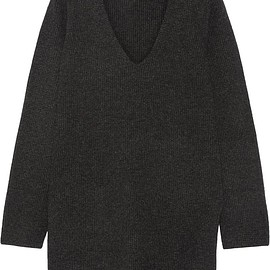 Charcoal Sweater-Dress