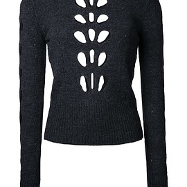 Isabel Marant - 'Ilia' cut out jumper