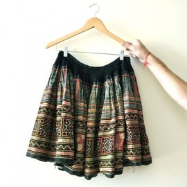 vintage - Handmade skirt from Vietnam