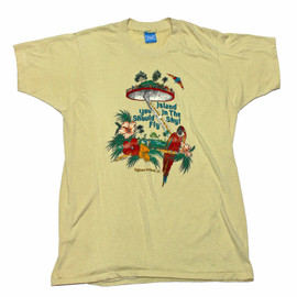 VINTAGE - Vintage 70s Cypress Gardens, FL Shirt Made in USA Mens Size Small