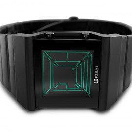 Tron-inspired LED Watch