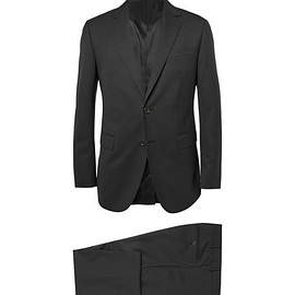 Lanvin - Black Attitude Slim-Fit Wool Suit