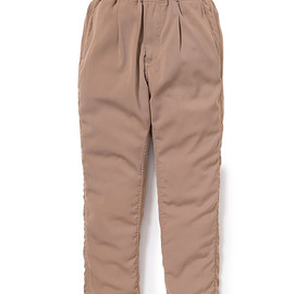 nonnative - MANAGER EASY PANTS RELAX FIT P/W TWILL STRETCH
