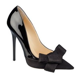 JIMMY CHOO - black/bow