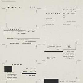 Wolfgang Weingart - Typographic Process, Nr 1. Organized Text Structures. 1974