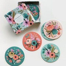 Rifle Paper Co - Botanical Coaster Set