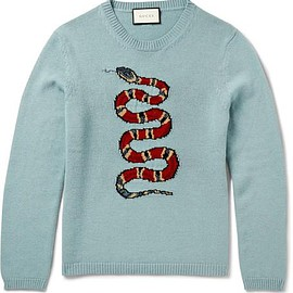 Gucci - Intarsia Wool Sweater