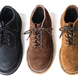 Hathorn × NEPENTHES - Work Boot Oxford-Rough Out