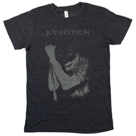Joy Division - Ian Curtis Tee (Heather Navy)