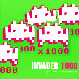 INVADER - INVADER 1000 Exhibition Catalogue