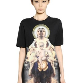 GIVENCHY - COTTON JERSEY T-SHIRT