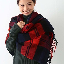 Traditional Weatherwear - 【Marisol ONLINE掲載】Traditional Weatherwear / ブランケットマフラー